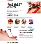 Night Club Muse  Template 51007