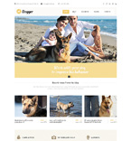 Animals & Pets Website  Template 51013