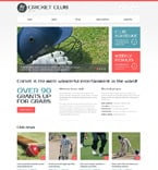 Sport Website  Template 51015