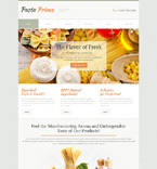 Food & Drink WordPress Template 51028