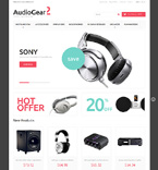 Electronics Magento Template 51035