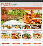 Cafe & Restaurant WordPress Template 51041