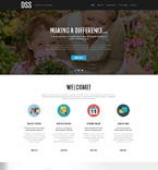 Society and Culture Website  Template 51047