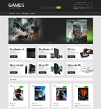 Games Magento Template 51048