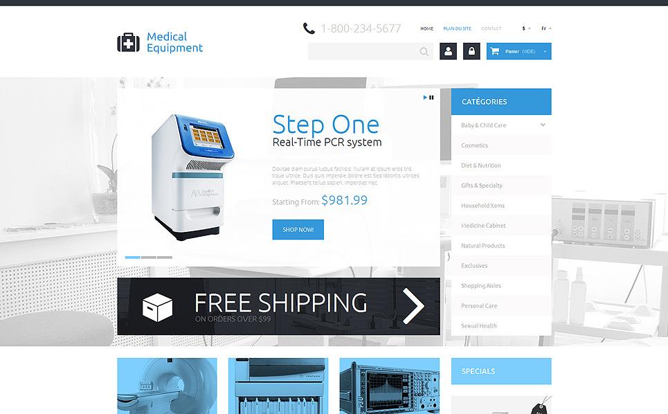 Responzivní PrestaShop motiv na téma Lékařské vybavení New Screenshots BIG