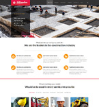 Architecture Website  Template 51054