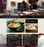 Cafe & Restaurant Muse  Template 51059