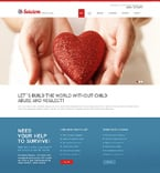 Charity Website  Template 51076