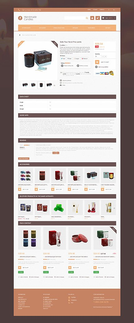 ADOBE Photoshop Template 51078 Home Page Screenshot
