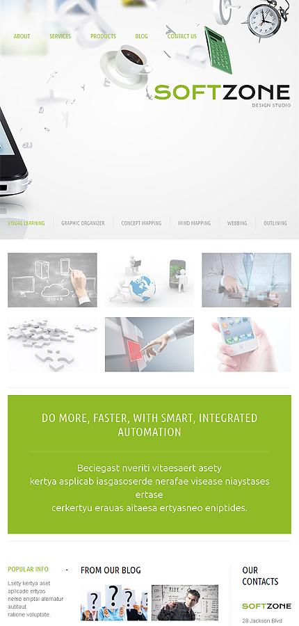 WordPress Theme/Template 51084 Main Page Screenshot