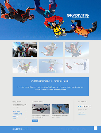 WordPress Theme/Template 51085 Main Page Screenshot
