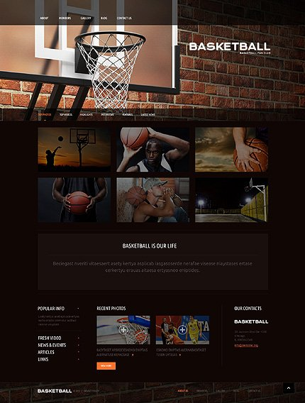 WordPress Theme/Template 51087 Main Page Screenshot