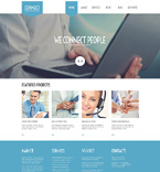 Communications WordPress Template 51088