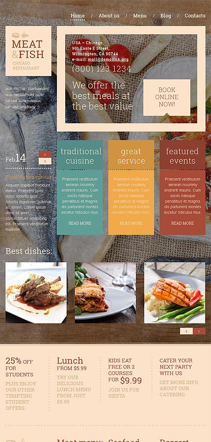 WordPress Theme/Template 51089 Main Page Screenshot