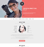 Art & Photography WordPress Template 51090