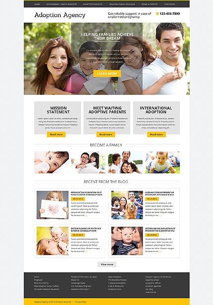Drupal Template 51093 Main Page Screenshot