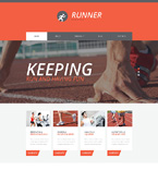 Sport Website  Template 51094