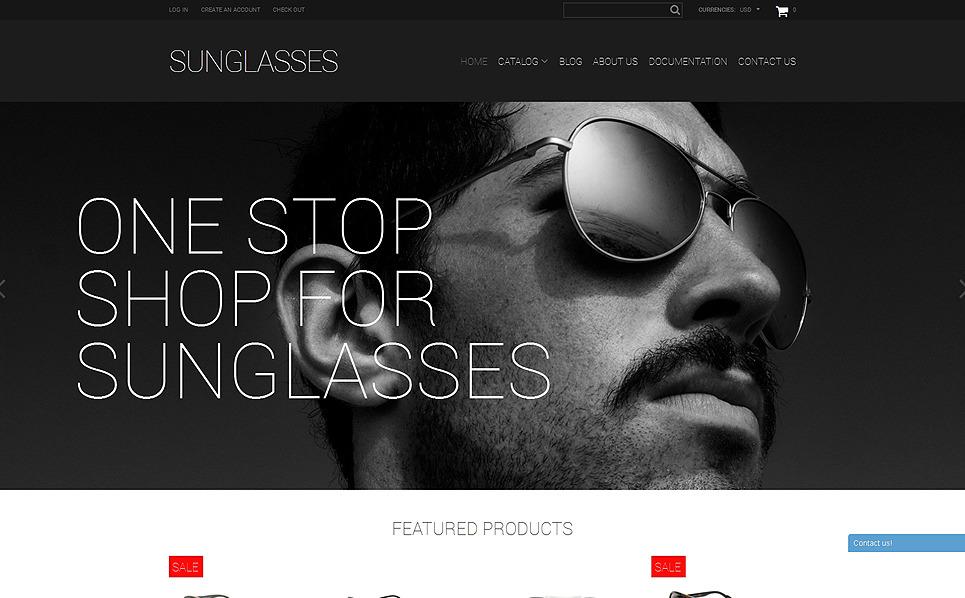 Responsive Gözlük  Shopify Teması New Screenshots BIG