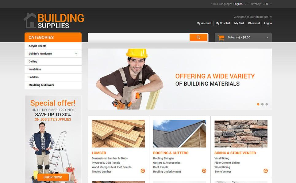 Адаптивний Magento шаблон на тему домашній ремонт New Screenshots BIG