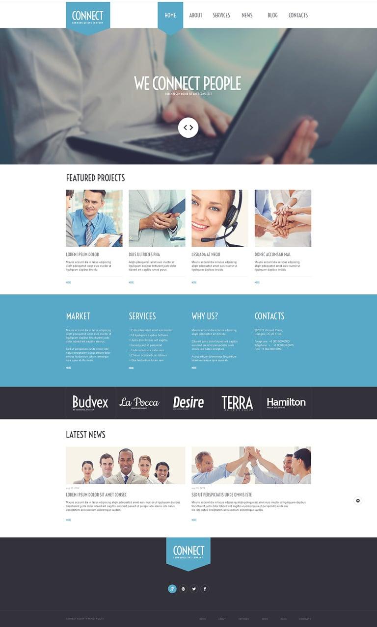 Communications Agency WordPress Theme New Screenshots BIG
