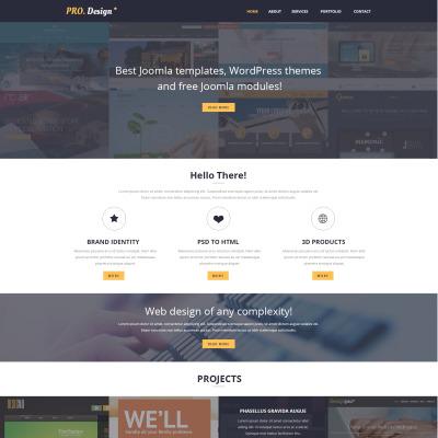 Design Studio Responsive Website Template #51016