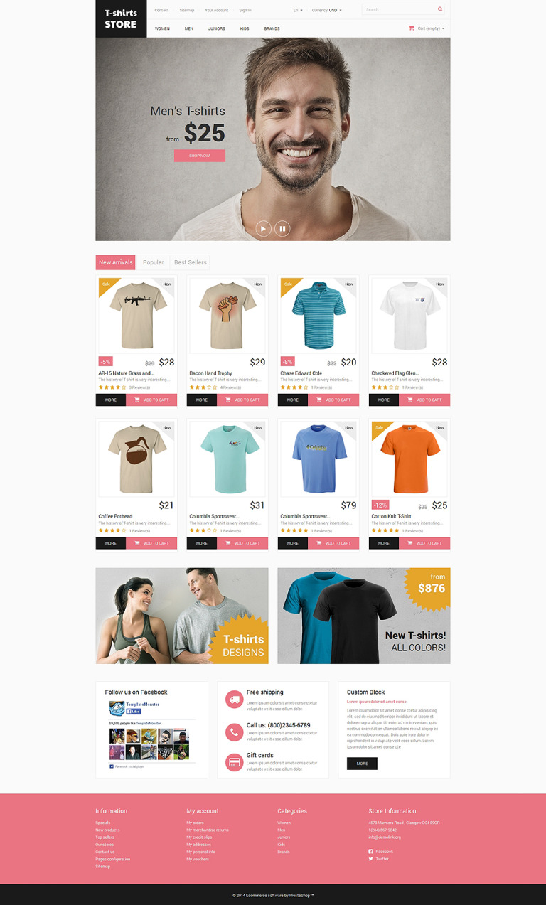Home and Office Outfit PrestaShop Theme New Screenshots BIG