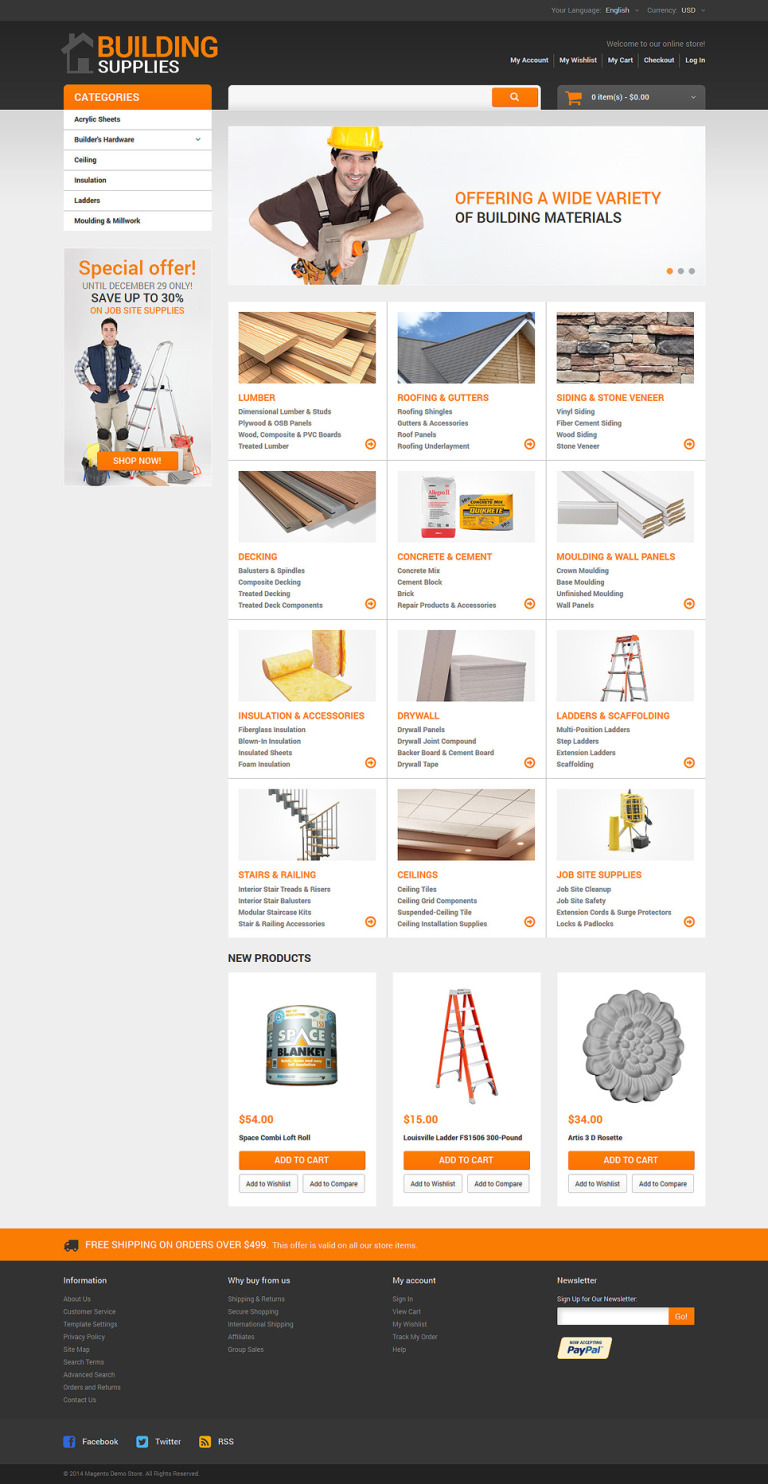 Home Repairs Responsive Magento Theme New Screenshots BIG