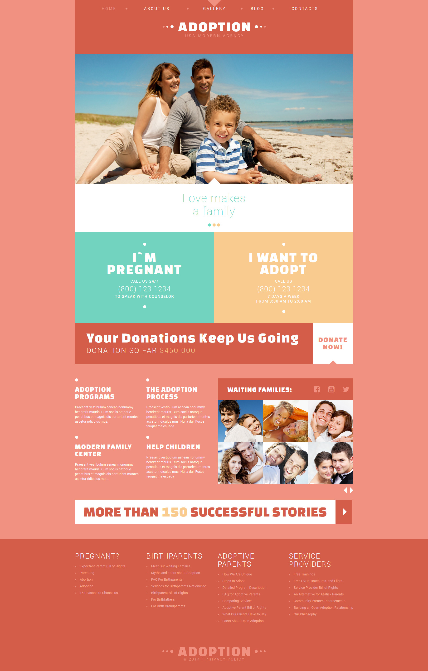 Modern Free Blog Template Joomla №51008