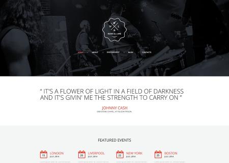 Music Band Responsive
