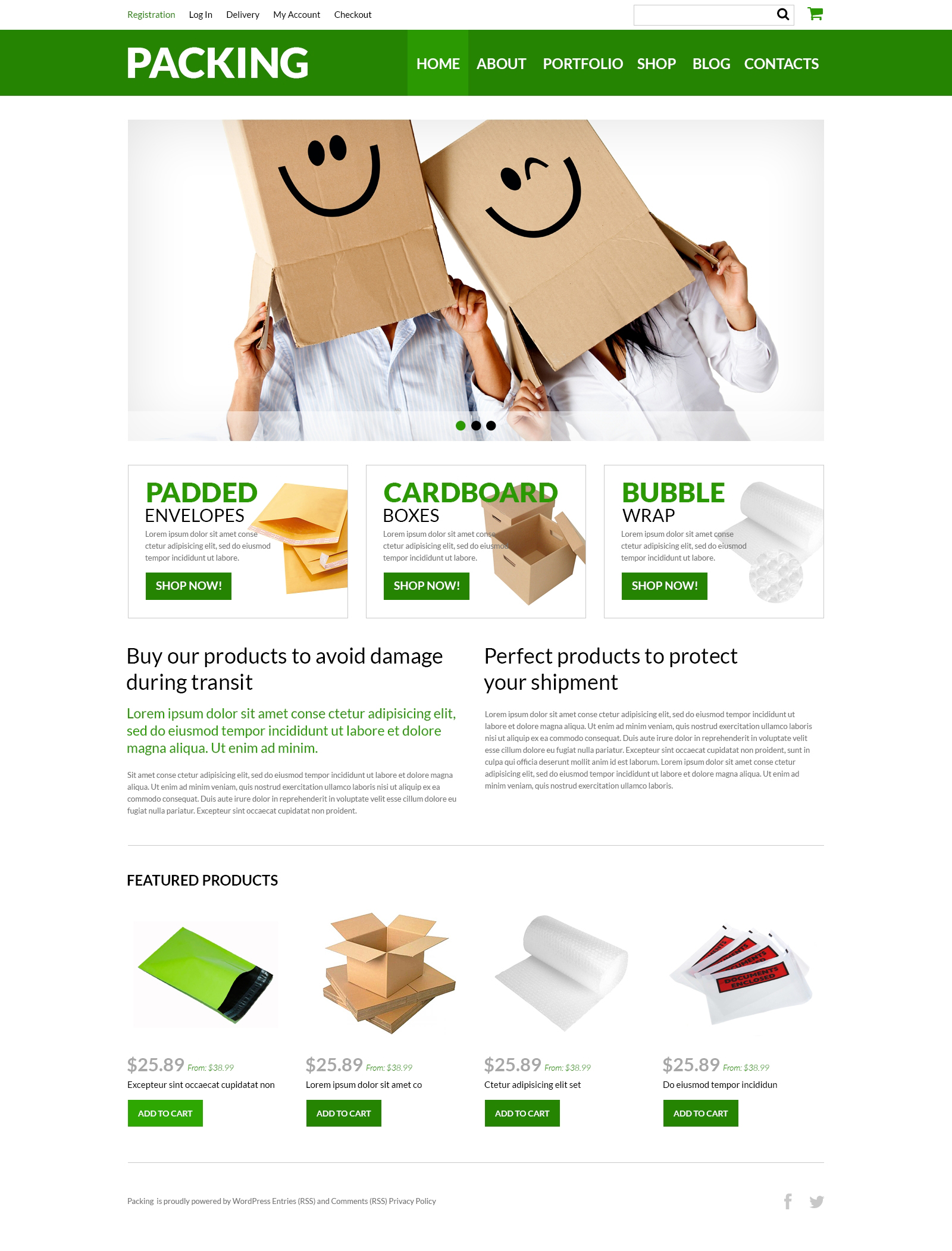 Packing Company eStore №51002 - скриншот