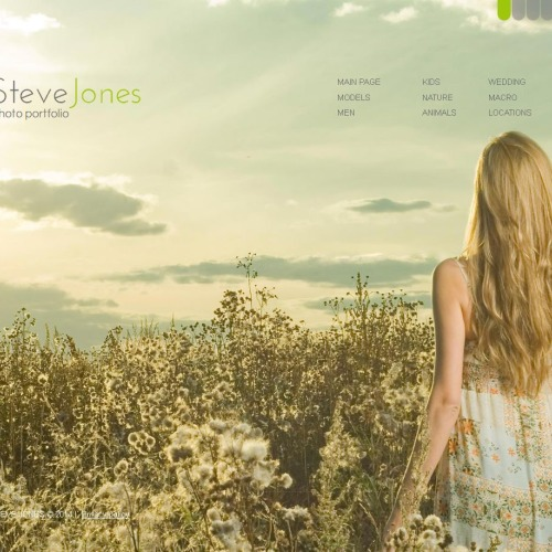 Steve Jones Photo Portfolio - Photo Gallery Template