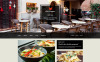Plantilla Muse #51059 para Sitio de  para Sitio de Restaurantes europeos New Screenshots BIG