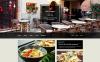 Plantilla Muse para Sitio de Restaurantes europeos New Screenshots BIG