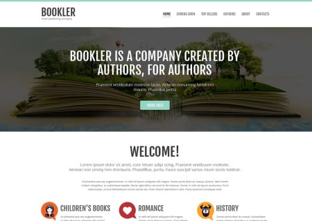 Publishing Company Responsive