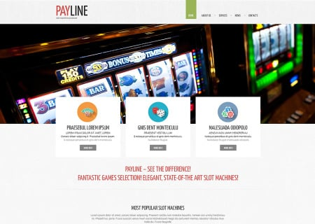 Slot Machines Responsive