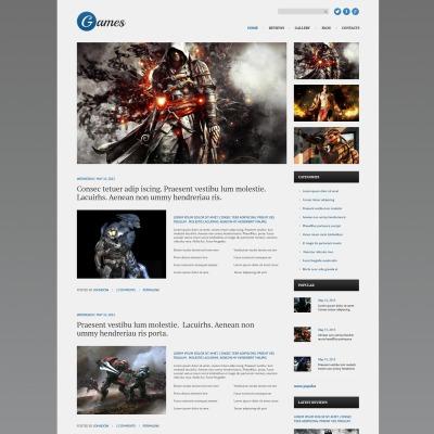 Temas WordPress para Sitios de Juegos