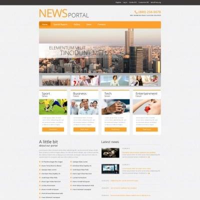 Tema de WordPress #51042 para Sitio de Portal de Noticias