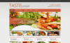 Tema De WordPress Responsive para Sitio de  para Sitios de Cafeterías y Restaurantes New Screenshots BIG