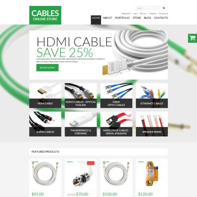 Responsive Tema WooCommerce #51009 para Sitio de  para Tienda de Electrónica