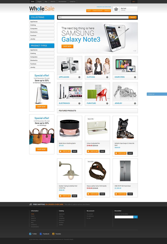 Wholesale Store Shopify Theme 51098