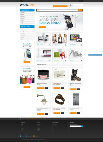 Wholesale Store Shopify Theme #51098