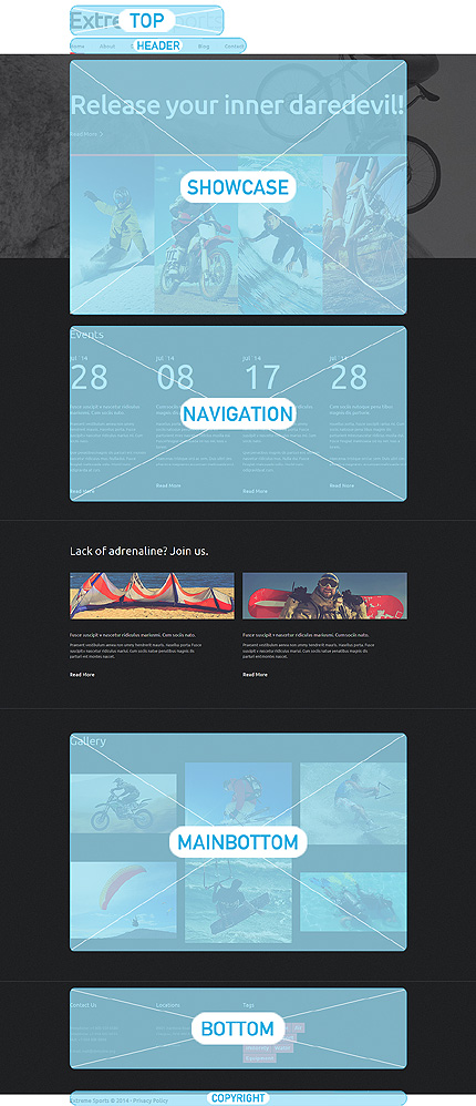 Joomla Theme/Template 51112 Main Page Screenshot