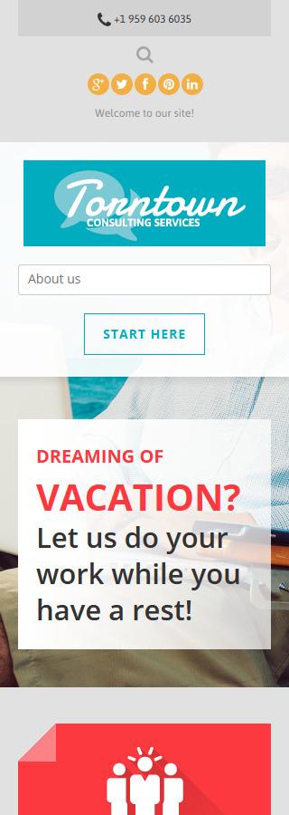 Joomla Theme/Template 51113 Main Page Screenshot