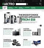 Electronics ZenCart  Template 51122