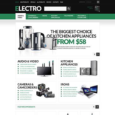 Купить  пофессиональные ZenCart шаблоны. Купить шаблон #51122 и создать сайт.