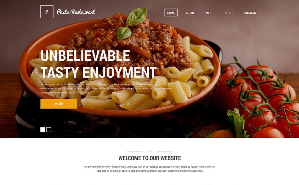 Szablon Drupal #51126 na temat: restauracja włoska New Screenshots BIG