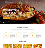 Cafe & Restaurant Drupal  Template 51126