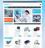 Medical osCommerce  Template 51133
