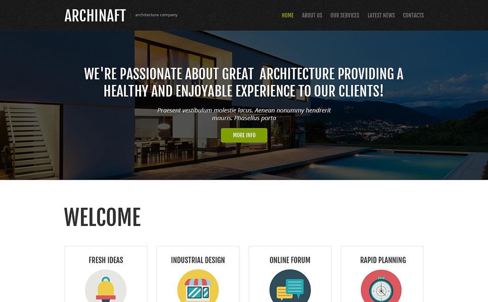 Responsive Joomla Vorlage für Architektur New Screenshots BIG