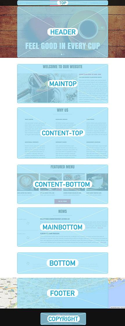 Joomla Theme/Template 51135 Main Page Screenshot